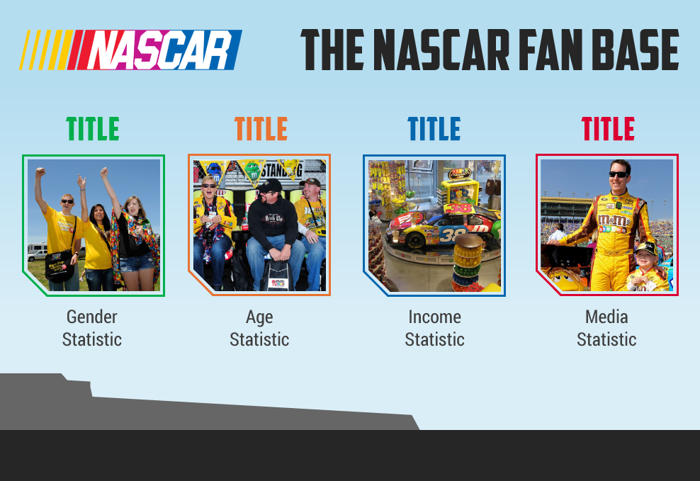 Nascar and M&M's slide
